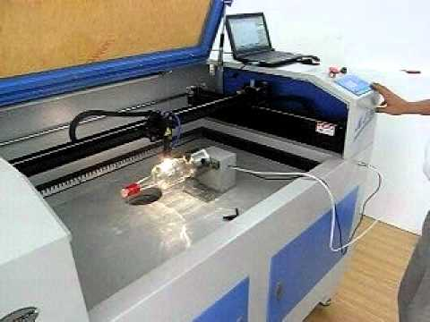 Rotary Laser Engraving Working For Round Materials Youtube