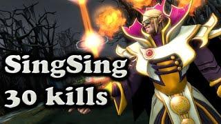 SingSing Sunstrike - Invoker 30 kills MMR party stream with Tucker ES