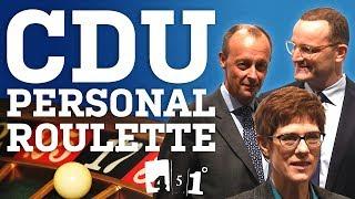 CDU Personal Roulette | Merkel tritt zurück | 451 Grad