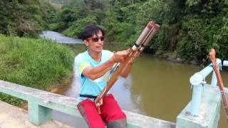 Repeat youtube video ทดสอบปืนยิงปลา การขึ้นยาง