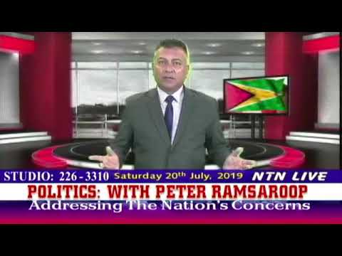 Politics: Addressing the nations concerns with host Peter Ramsaroop July 20th 2019