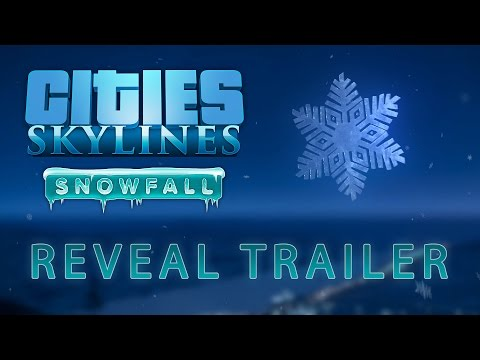 Cities: Skylines - Snowfall reveal trailer!