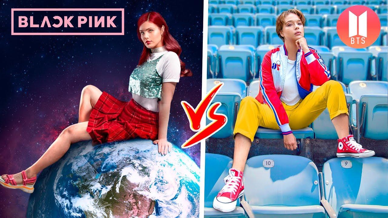 Fan de BTS vs Fan de BLACKPINK ! Guerre des Blagues !