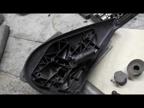Разборка и ремонт бокового зеркала Рено Кенго 1,5 DCI