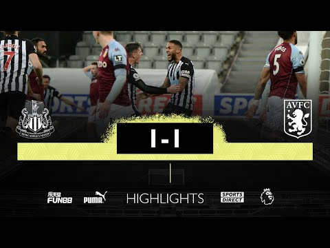 Newcastle United 1 Aston Villa 1 | Premier League Highlights