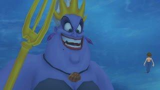 Kingdom Hearts: Giant Ursula Boss Fight (PS3 1080p)