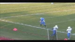 #24 DJ Kee, 2008 Football Highlights