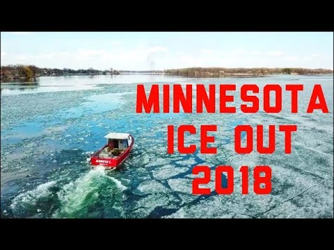 Lake Minnetonka Ice Out 2018