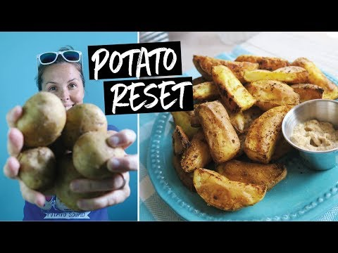 What to Eat on a Potato Only Diet – Potato Reset VLOG