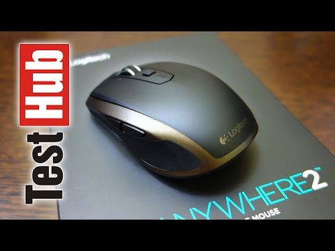 0871cc90550 Logitech MX Anywhere 2 Wireless Mobile Mouse (Bluetooth/Unifying) - Test -  Review
