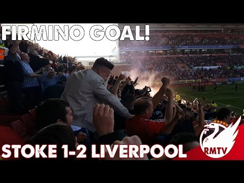 Firmino Goal! | Stoke v Liverpool 1-2
