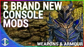 5 BRAND NEW Console Mods 14 - Weapons & Armor - Skyrim Special Edition (XBOX/PC)