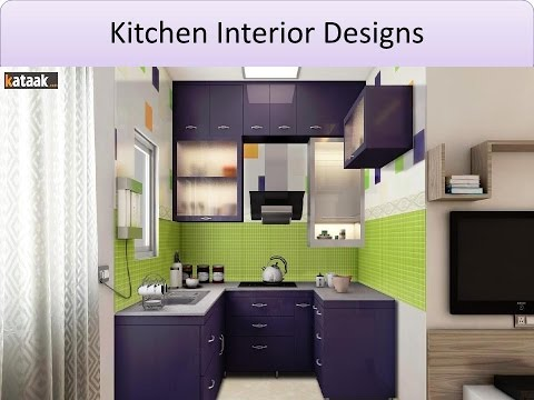 Modular Kitchen Decorating Ideas- Kitchen Cabinet Designs - YouTube