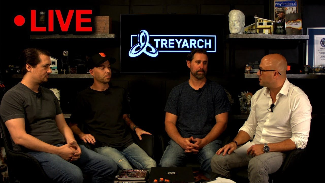 Treyarch LIVE! (A New Map & Game Mode Coming for BO4 Beta)