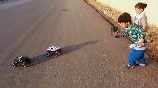 سوينا درفت  بالسيارات في الحاره!!
