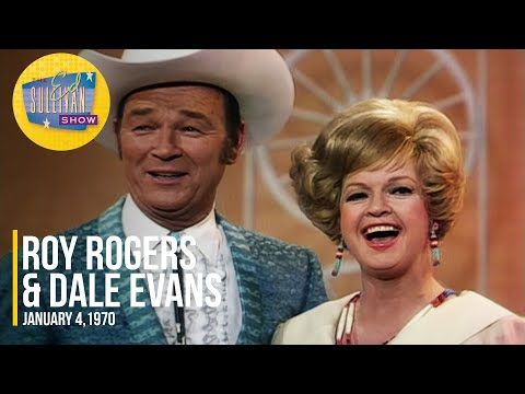 """Roy Rogers & Dale Evans """"They Call The Wind Maria & Wand'rin' Star"""" on The Ed Sullivan Show"""
