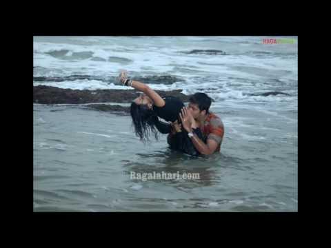 Saree navel kiss video HOT song thumbnail