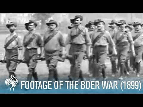 War Footage from 1899 (The Boer War)