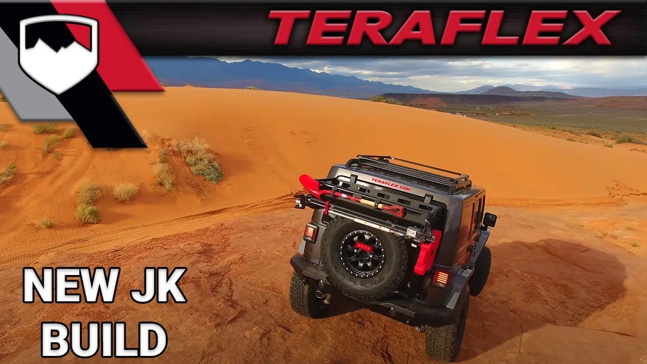 Teraflex New Jeep Build Harbinger Youtube