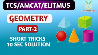 TCS NQT 2020 Advance Questions Geomerty-3 maths tricks for placement