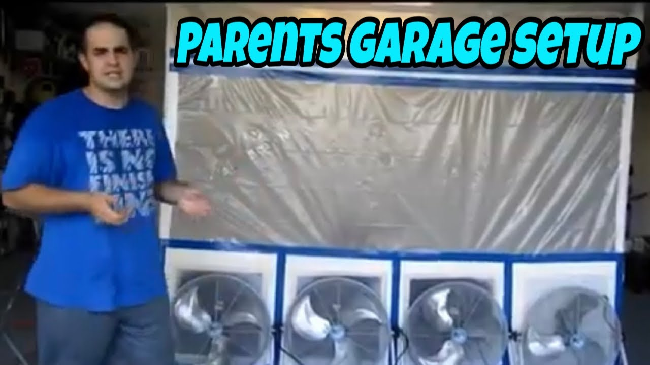 Portable Paint Booth & Compressor System Overview