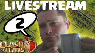 CLASH OF CLANS LIVESTREAM TEIL 2 || Stream vom 21.07.2014 || LP COC [Deutsch/German HD]