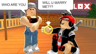 PROPOSING TO STRANGERS IN ROBLOX PRANK | Roblox Social Experiment