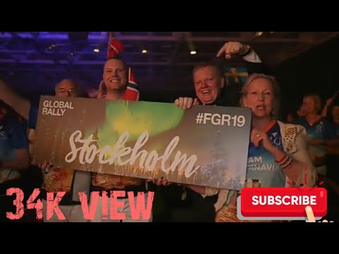 SWEDAN STOCKHOLM GLOBAL RALLY 2019 FOREVER LIVING PRODUCTS INC./FDTFLP/EXITMANT