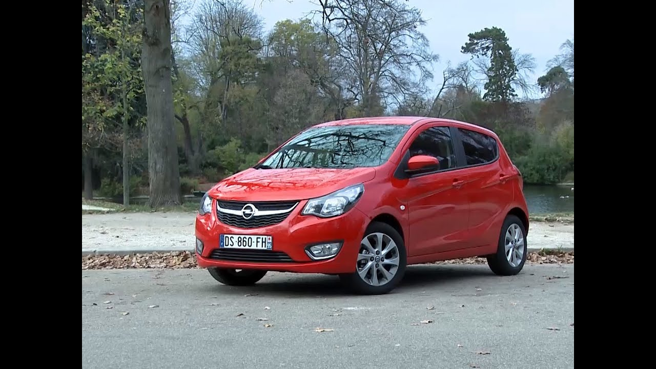 essai opel karl 1 0 cosmo pack 2015 youtube. Black Bedroom Furniture Sets. Home Design Ideas