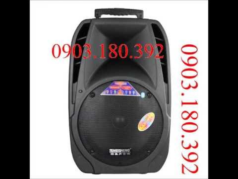 Loa Vali Kéo Di Động Hát Karaoke Temeisheng A18 - Tinmua24h
