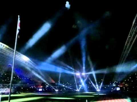 Inauguración del Nuevo Estadio Nacional CR