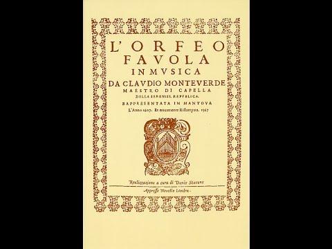 """Claudio Monterverdi: """"L'Orfeo"""" -  René Jacobs (Berlino, 2007)"""