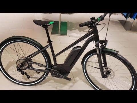 Cube Cross Hybrid Pro ALLROAD 500 Bosch Cross E-Bike grey