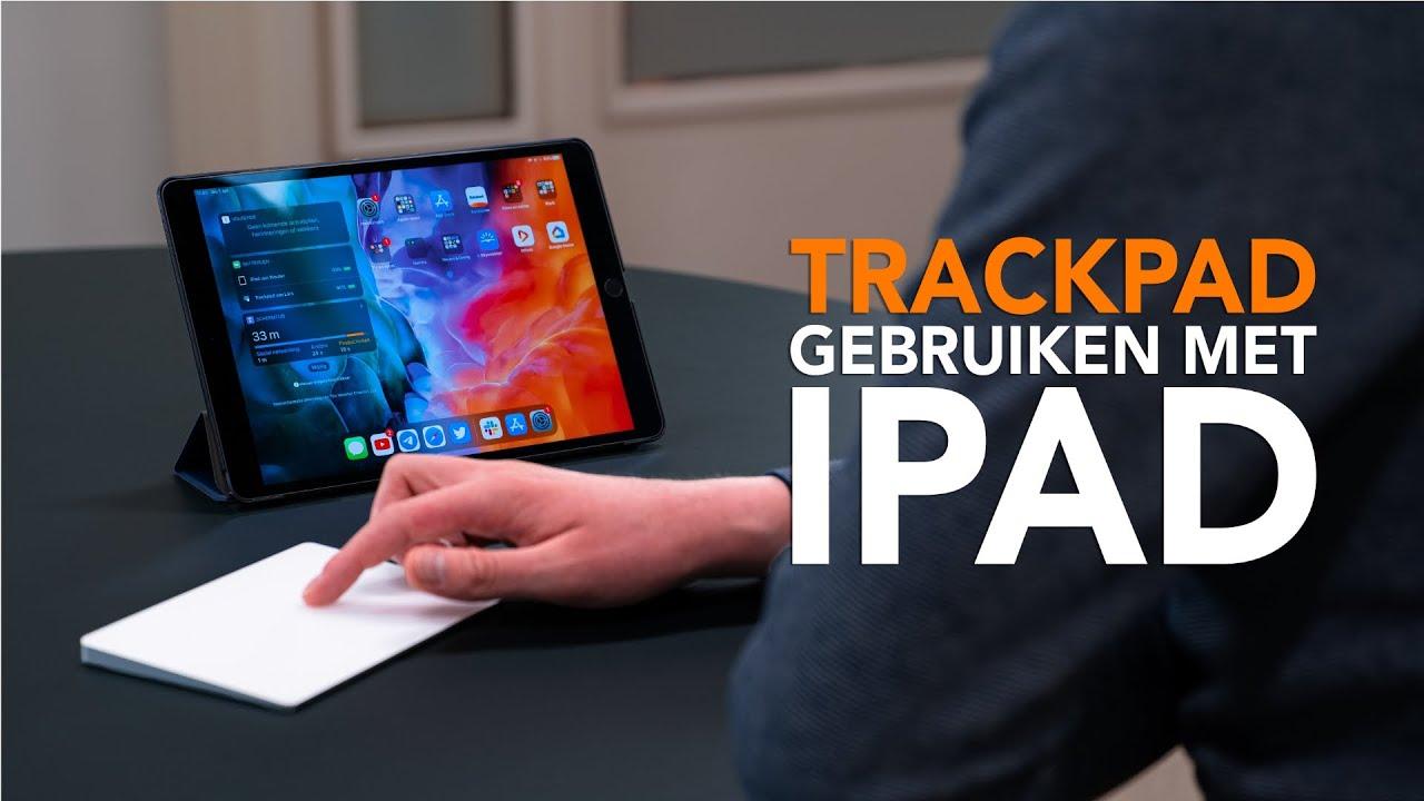 Een iPad bedienen met een muis of trackpad: zo doe je dat!