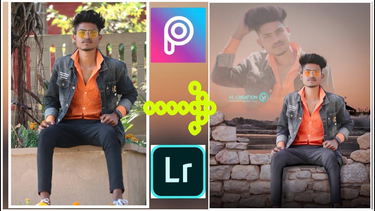 PicsArt    editing    and lightroom   