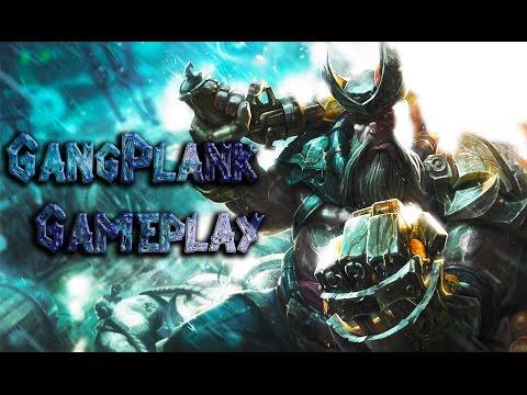 League of Legends - Gangplank Gameplay (HUN - Magyar)