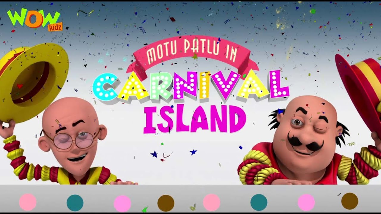 Motu Patlu Cartoons In Hindi | Animated movie | carnival island| Wow Kidz