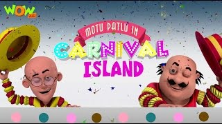 Motu Patlu In Carnival Island - Motu Patlu Movie - ENGLISH SUBTITLES!