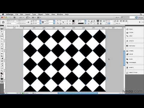 InDesign tutorial: How to create repeating patterns | lynda.com, InDesign FX series
