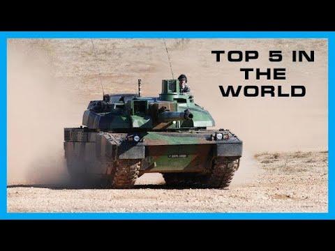 TOP 5 DES MEILLEURS CHARS AU MONDE (2019)