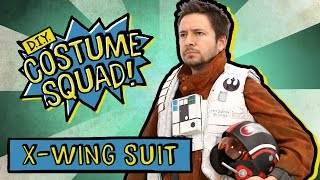 Make Poe Dameron's X-Wing Suit - DIY Costume Squad