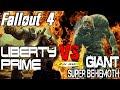 LIBERTY PRIME VS GIANT BEHEMOTH   Deadpool @ Fallout 4 Arena Deathmatch