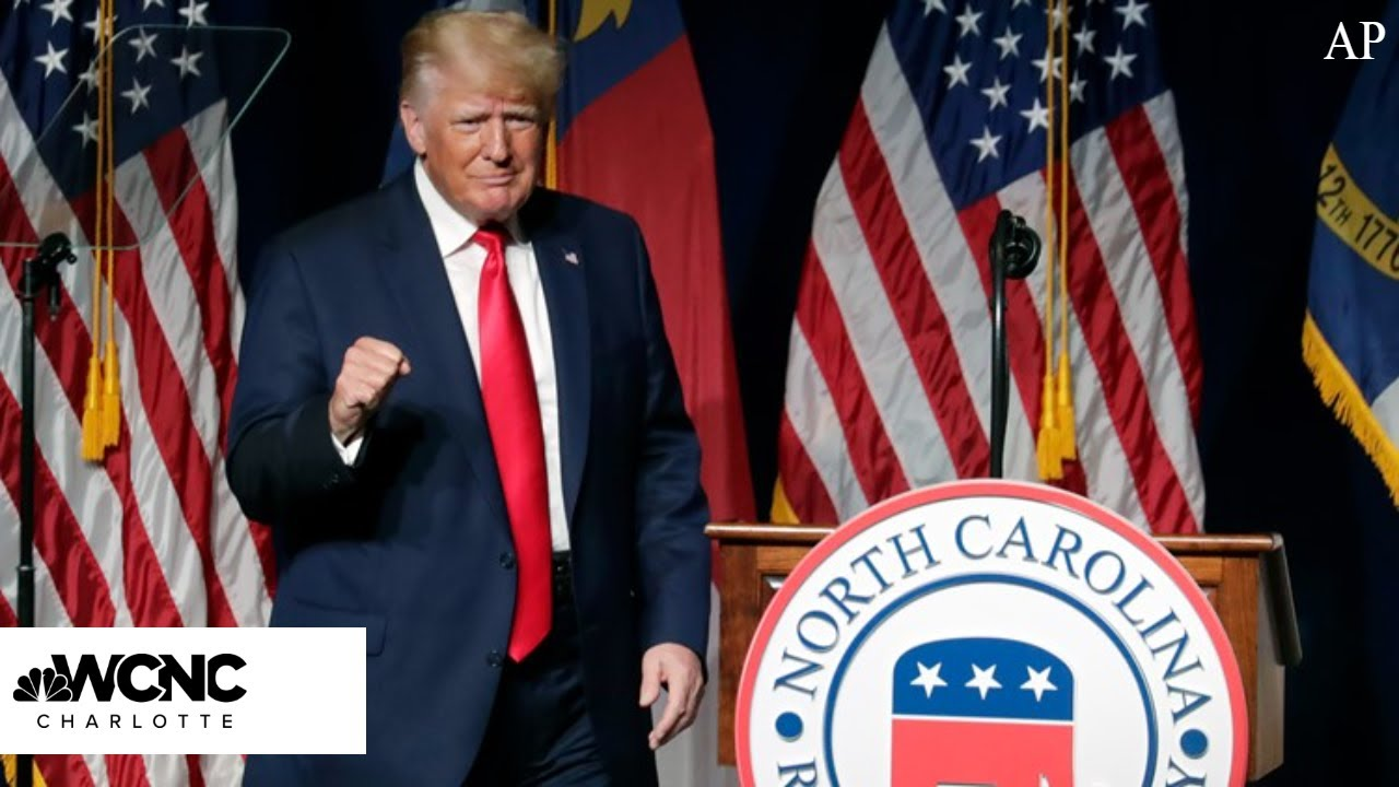 Former President Donald Trump endorses NC Rep. Ted Budd as ...