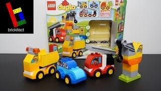 LEGO DUPLO My First Cars and Trucks 10816 Review | brickitect