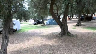 Camp site Prapratno - Peljesac - Croatia