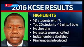 KTN Prime:Interview with Dr. Mugo on KCSE results