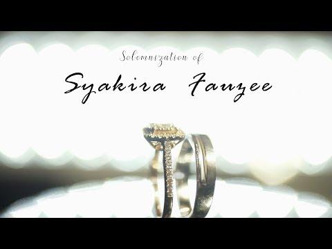 Malay Wedding Syakira and Fauzee
