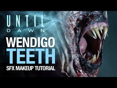 Until Dawn wendigo teeth tutorial