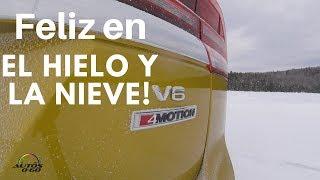 Test Drive Volkswagen 4MOTION en la nieve y el hielo de Canadá