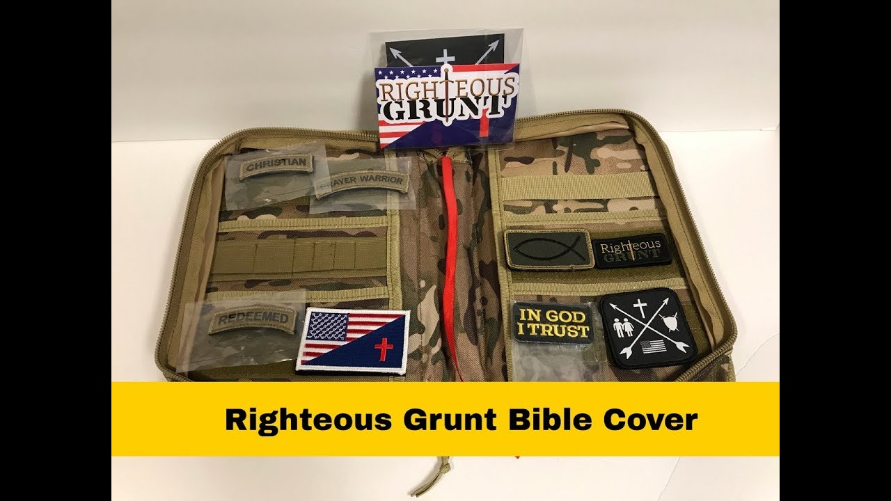 Righteous Grunt Bible Cover Review